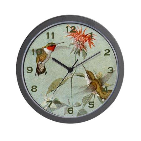CafePress - Hummingbird Clock - Unique Decorative 10