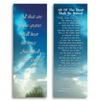 eThought - All of The Dead Shall Be Raised -Bible Cards - Pack of 25
