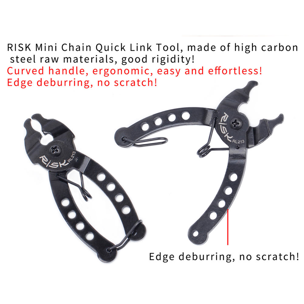 Bicycle Magic Buckle Removal Pliers Chain Installation Clamp Mountain Bike Steel