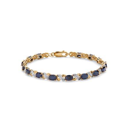 8.40 TCW Oval-Cut Genuine Blue Sapphire