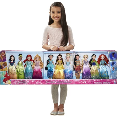 Disney Princess Shimmering Dreams Collection 11 Pack