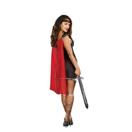 Warrior Costume Woman (Sexy Bring It Roman Warrior Costume Dress)