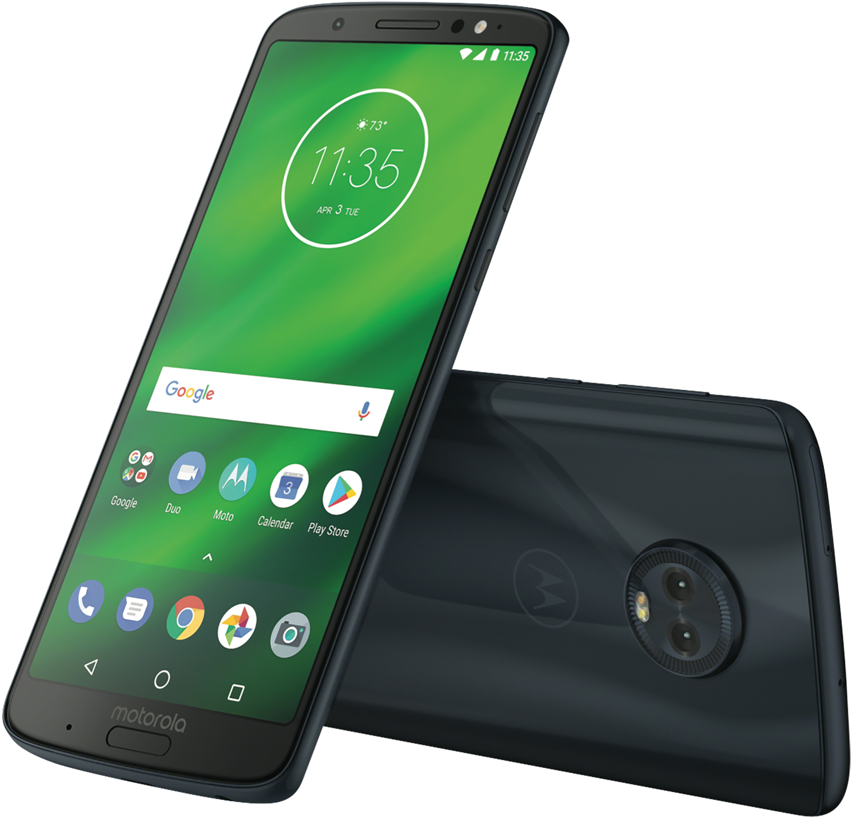 Motorola Moto G6 Plus XT1926-7 64GB Unlocked GSM Android Phone - Deep Indigo