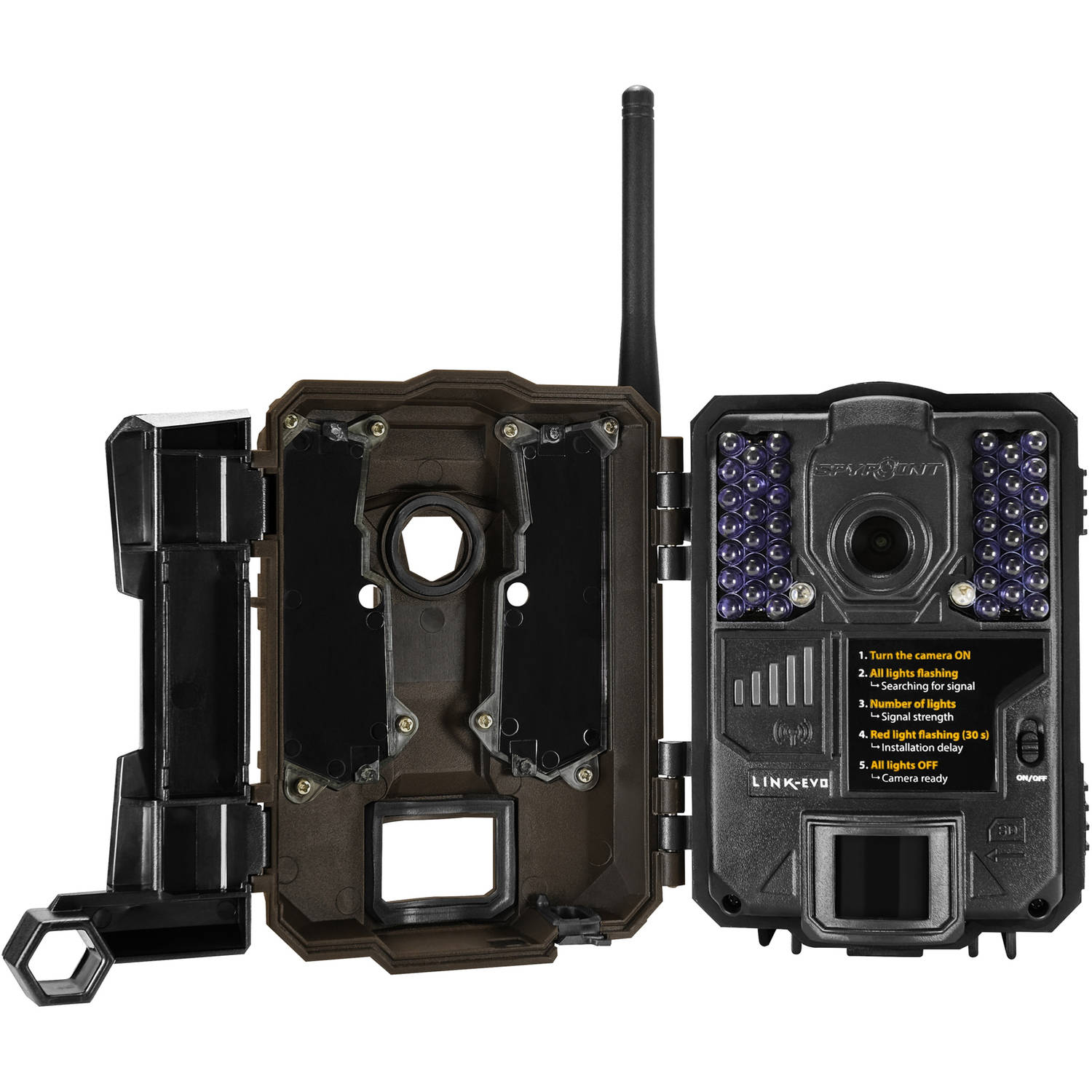 online store 5a904 5d768 Spypoint 4G Cellular AT&T HD 12MP Low Glow IR Game Trail Camera ...