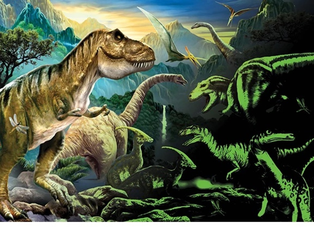 GiftCraft 3D Puzzle Dinosaur Valley 1000 Pieces by GiftCraft