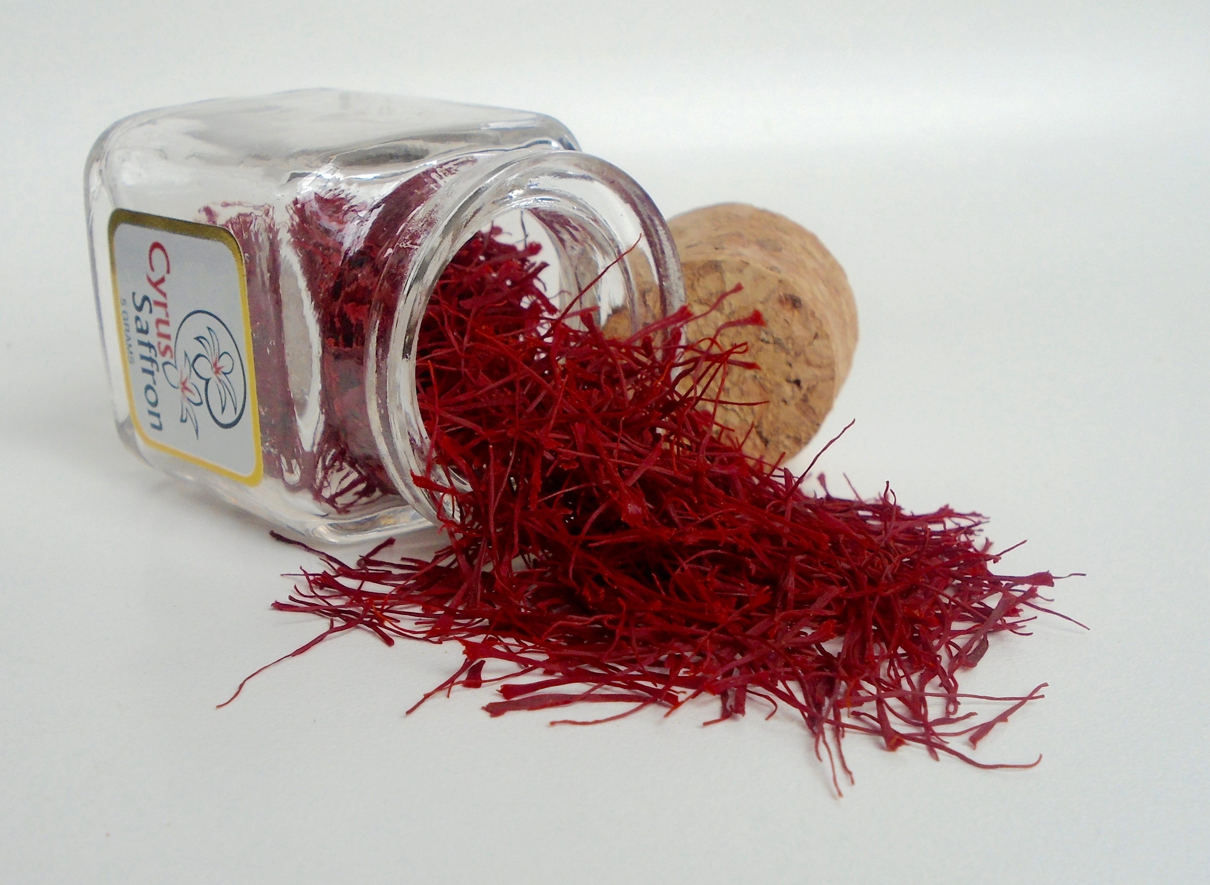 Cyrus Saffron,100% Pure Premium Quality Stigmas Threads Only (2 Grams), non-GMO, [SUPER... by
