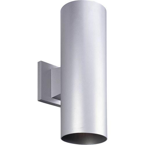 Progress Lighting P5675 Cylinder 2 Light Outdoor Wall Sconce with Metal Cylinder by Progress Lighting