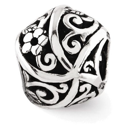 Sterling Silver Reflections Flowers & Vines Bali (Ss Bali Bead)