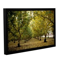 'Fall Orchard' Gallery Wrapped Floater-framed Canvas Art Print, 12x18