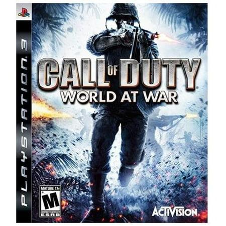 Activision Ps3-call Of Duty: World At War