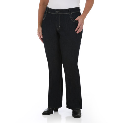 Riders by Lee Women's Plus-Size Fashion Slender Stretch ...