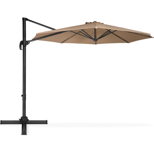 Best Choice S 10ft 360 Degree, 10 Ft Cantilever Patio Umbrella