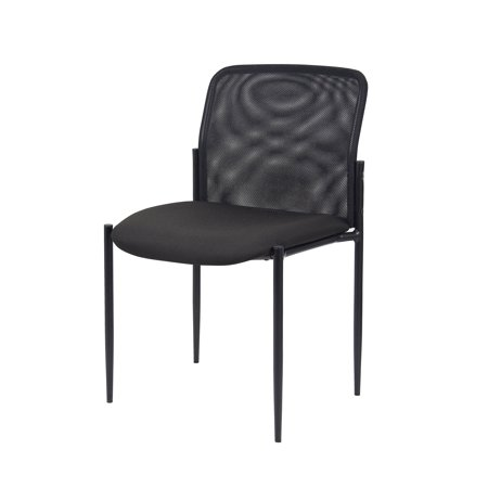 Boss Office Products Black Guest Reception Waiting Room Chair](Ball Office Products)