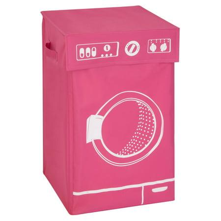Honey-Can-Do Washing Machine Hamper - Pink