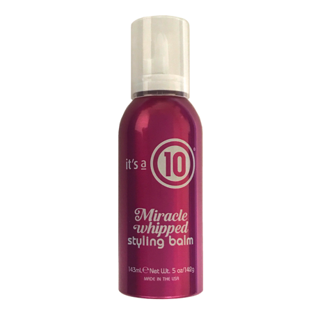 Itâs A 10 Miracle Whipped Styling Balm 5 Oz, Softens, Smoothes And Hydrates For Color Treated Hair