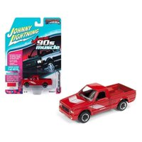 JOHNNY LIGHTNING 1:64 MUSCLE CARS USA - 1991 GMC SYCLONE (BRIGHT RED) JLSP027-24B