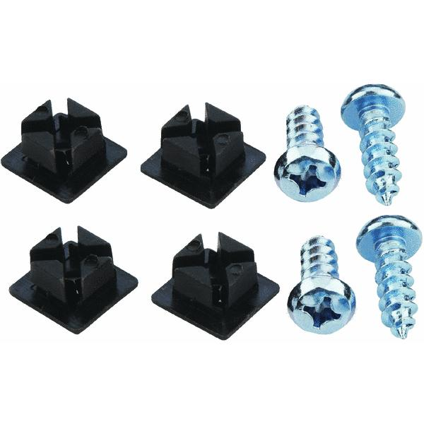 Custom Accessories Products Deluxe Nylon License Plate Fasteners
