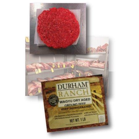 Durham Ranch Ground Wagyu Beef (75% Lean) (1 pound)