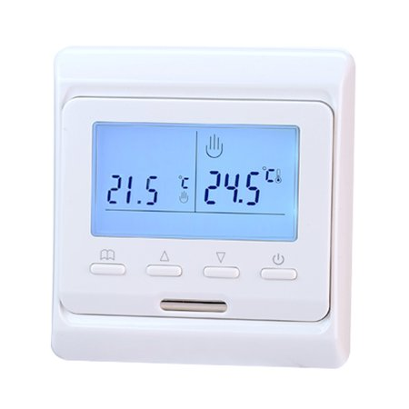 Touch Screen Anti-freezing Heating Thermostat Panel Intelligent Temperature Control Switch Overheat Protection Keypad Lock Controller E51