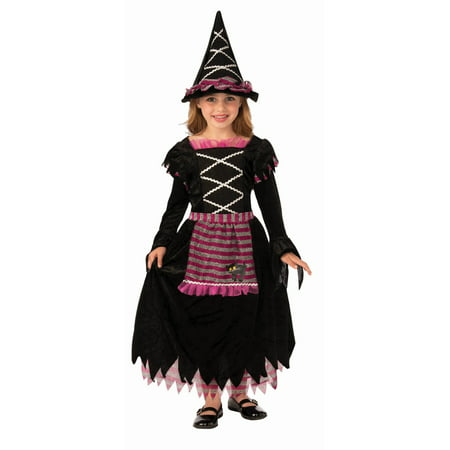 Fairytale Witch Child Costume - Youth Witch Costume