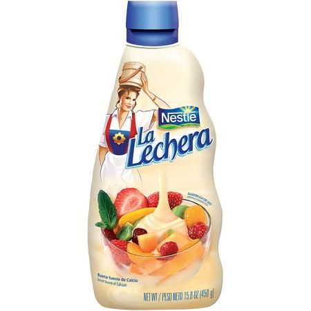 Nestle La Lechera Sweetened Condensed Milk 15.8 oz. Squeeze Bottle
