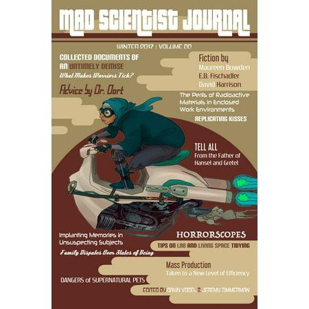 Mad Scientist Journal: Winter 2017 - eBook](Winner Halloween 2017)