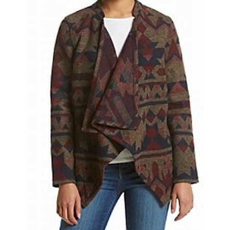 Vintage Red Vintage Cardigan - Vintage America Blues NEW Brown Womens Size Medium M Cardigan Sweater