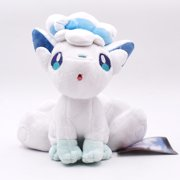 "SeekFunning 8"" Alola Vulpix Pokemon Plush Toys , Birthday Gift, White"