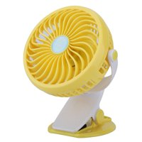 HERCHR Charging Fan, USB Wireless Portable Powerful Charging Mini Fan 2600ML Battery with Clip, Portable Fan