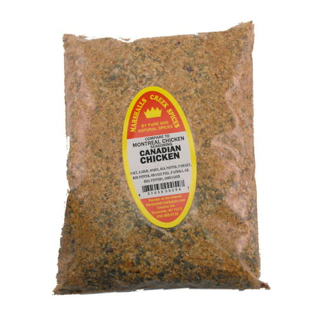 Marshalls Creek Spices CANADIAN CHICKEN SEASONING REFILL, (COMPARE TO MONTREAL SEASONING ®)