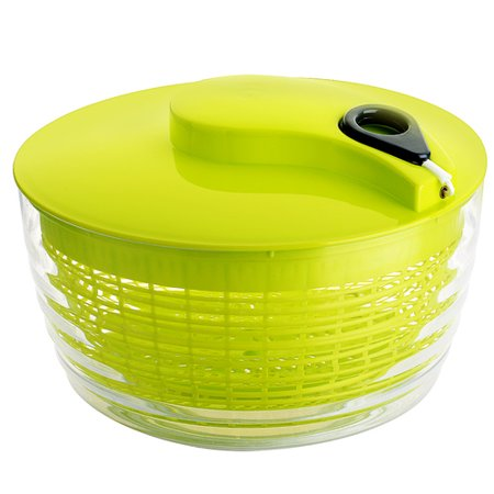 VicTsing Salad Spinner, 5 Quart Large Lettuce Spinner, Vegetable Spinner Made from Food Grade and High Quality Plastic, Multipurpose and Easily Spin