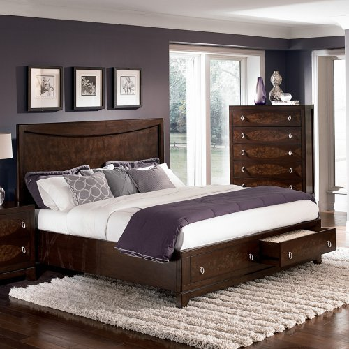 Lakeside Storage Platform Bed Set