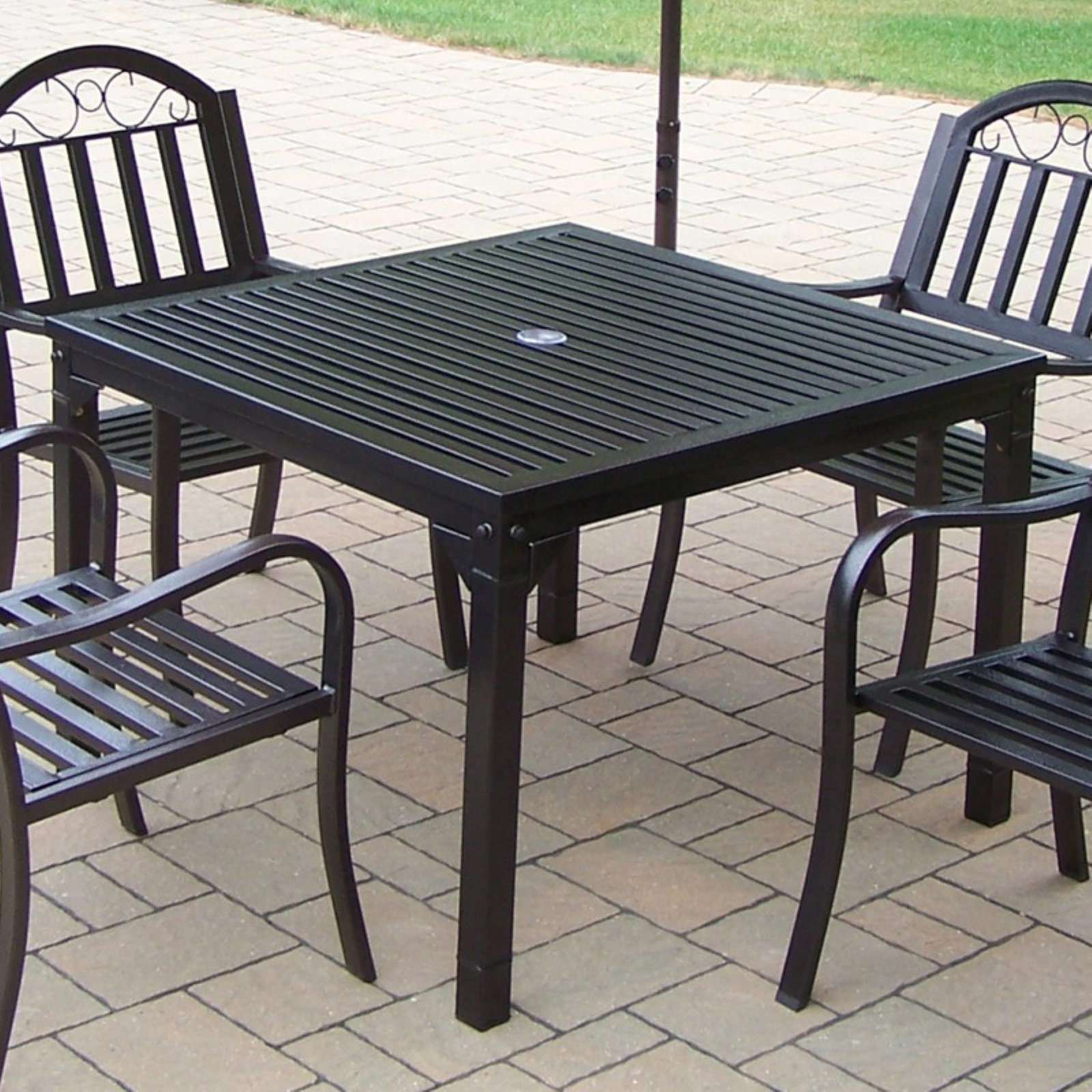 Oakland Living Rochester 40 x 40 in. Patio Dining Table