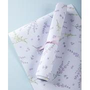 Scented Drawer Liners - Floral Paper for Dresser, Kitchen Drawers - Lavender