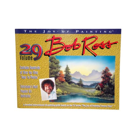 BOB ROSS INC. R029 BOB ROSS JOY OF PAINTING VOLUME - Buy Bob Ross Painting Original