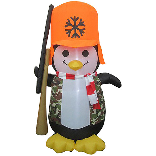 Airblown Inflatables 6' Hunting Penguin