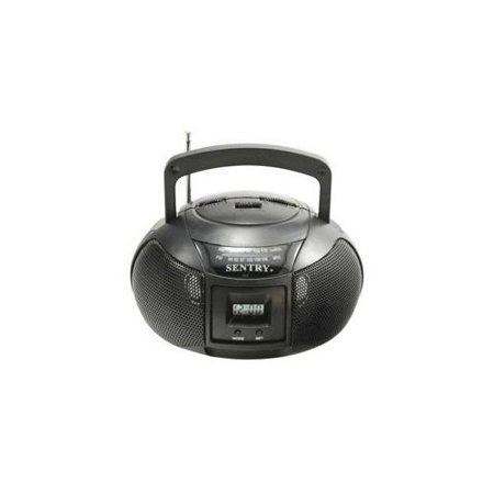 Sentry MBBRC AM FM Mini Boombox Radio by