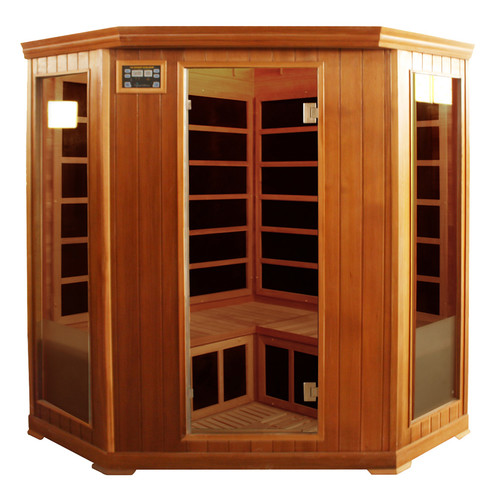 Crystal Sauna Family Series 3-4 Person Carbon FAR Infrared Sauna by Crystal Sauna