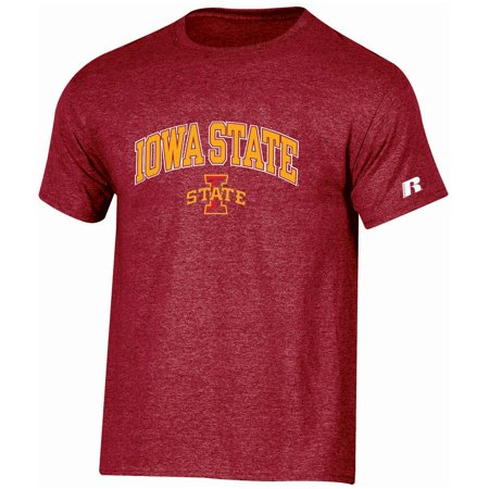 Men's Russell Cardinal Iowa State Cyclones Core Print T-Shirt