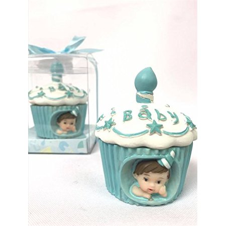 Baby Cake Cupcake Boy Cake Topper Favor Souvenir for 1st Birthday-Baby Shower
