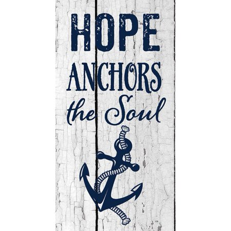 Series Custom Panel - Custom Decor Art Panel - Hope Anchors