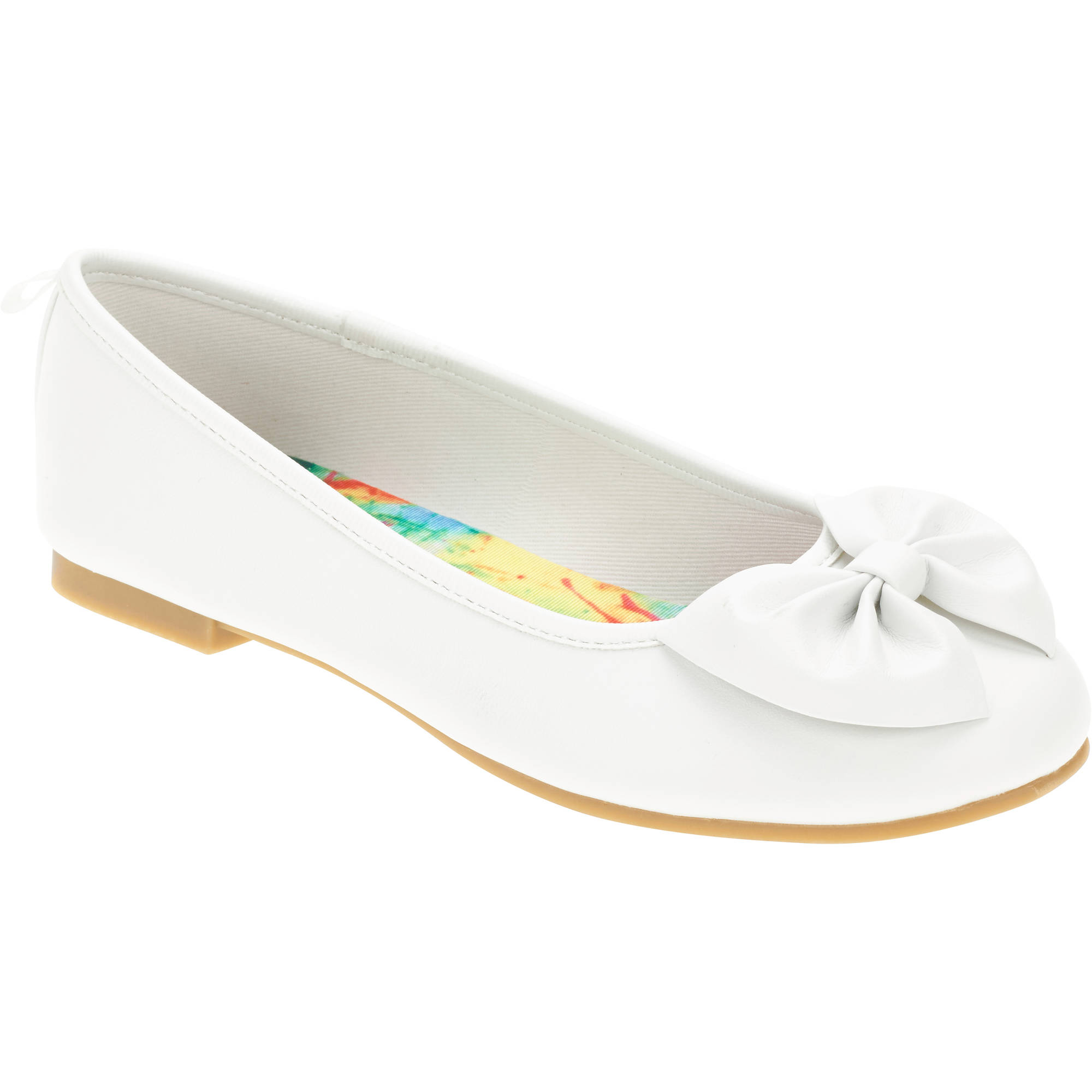 Faded Glory Girls' Bow Ballet Flat by