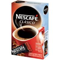 NESCAFE CLASICO Dark Roast Instant Coffee 7-0.07 oz. Box