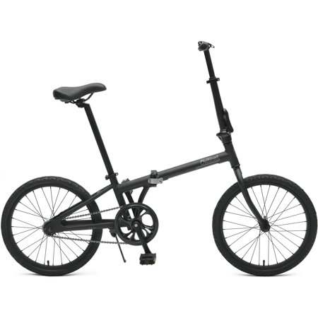 Critical Cycles Judd Single Speed Folding Bike with Coaster Brake (Base UPC 0081572502359), Color Matte