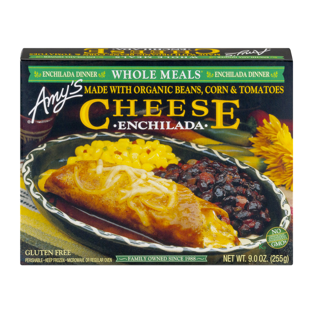 Amy's Whole Meals Cheese Enchilada, 9.0 OZ