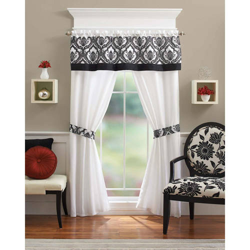 Better Homes and Gardens Sylvan Crest 5-Piece Curtain Panel Set