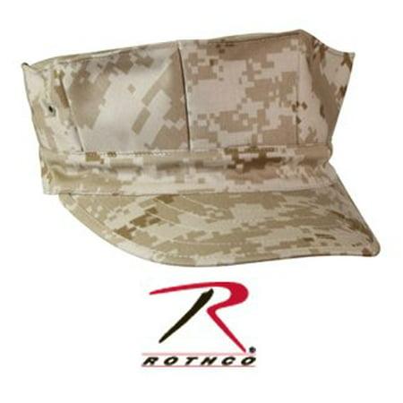 Rothco 8 Point No Emblem Cap - Woodland Digital Camo, Medium