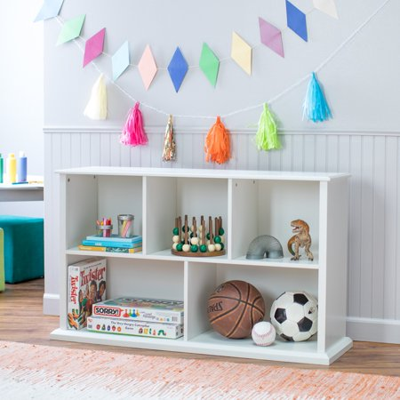 Classic Playtime White Multi Cube Stackable Bookcase