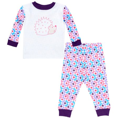 Kids Long Johns - Prism Print Plum - 6y