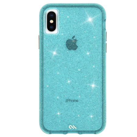 Case-Mate iPhone X/Xs Teal Sheer Crystal case - CM037942 - image 3 of 3